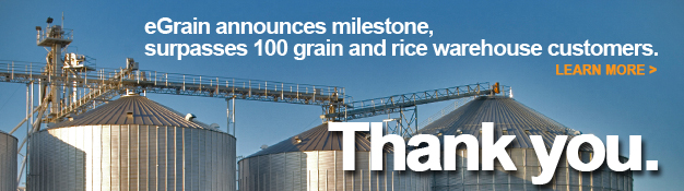 eGrain 100th Customer banner - Click for Press Release